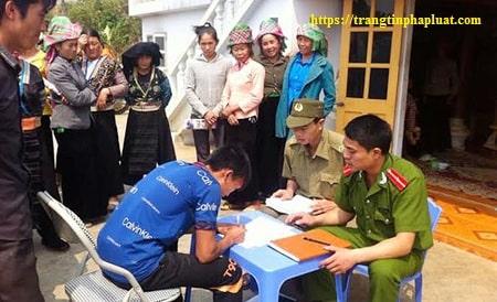 Biểu mẫu văn bản giáo dục tại xã phường thị trấn