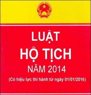 Tổng hợp điểm mới của Luật Hộ tịch 2014