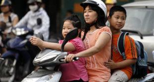 Mức phạt đối với hành vi không đội mũ bảo hiểm