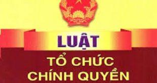 Luat to chuc chinh quyen dia phuong 2019