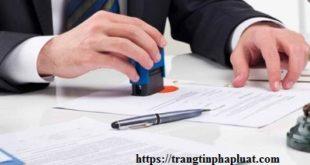 Chứng thực văn bản chia tài sản chung của vợ chồng
