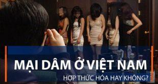 Thực trạng mại dâm ở Việt Nam