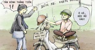 Quy định xử phạt vi phạm hành chính lĩnh vực giao thông đường bộ