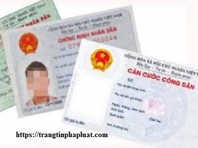 Lệ phí cấp thẻ căn cước công dân mới nhất