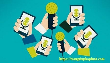 Quy định về đăng tải thông tin đối ngoại