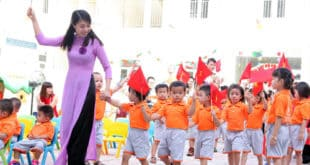 Chính sách hỗ trợ đối với trẻ em mầm non 2020