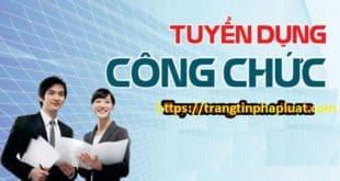 Thi tuyển công chức khối Nhà nước tỉnh Quảng Nam năm 2020