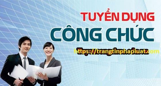 Xét tuyển công chức năm 2019 của tỉnh Quảng Nam