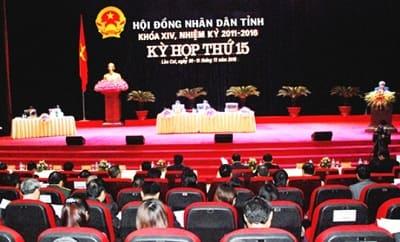 HĐND tỉnh, huyện là cơ quan quyền lực nhà nước ở địa phương