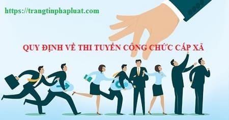 Thi tuyển công chức, viên chức tỉnh Quảng Nam 2019