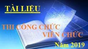 Tài liệu thi công chức, viên chức năm 2019 của tỉnh Quảng Nam