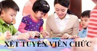 Quảng Nam: Thi tuyển giáo viên mầm non, tiểu học và nhân viên năm 2021