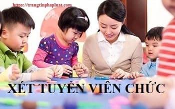 Thi tuyển viên chức giáo viên 2020 tỉnh Quảng Nam