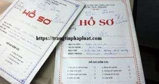 Mượn giấy tờ người khác để làm hồ sơ xin việc có vi phạm pháp luật