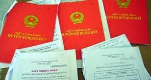 Thu hồi sổ đỏ cấp trái pháp luật