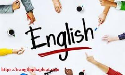 Bộ câu hỏi trắc nghiệm tiếng Anh thi công chức, viên chức 2020