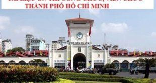 Tài liệu thi viên chức Ngành Giáo dục thành phố Hồ Chí Minh 2021