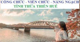 Tài liệu ôn thi công chức tỉnh Thừa Thiên Huế