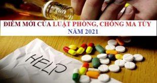 Điểm mới của Luật Phòng, chống ma túy năm 2021